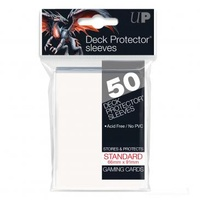 Deck Protector - Standard Size - White - 50 Count
