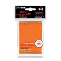 Ultra.Pro - Solid Orange - Small - 60 Count