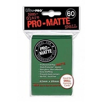 Ultra.Pro - Matte - Green- Small - 60 Count
