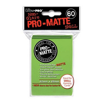 Ultra.Pro - Matte - Lime Green- Small - 60 Count