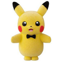 Pokemon Pokemofu Doll Vol.4 (Pikachu with Bow Tie)