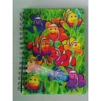 Note Book - 3D - Clown Fish