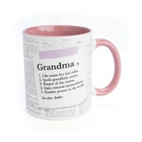 Double Sided Ceramic Mug - GRANDMA
