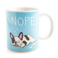 Double Sided Ceramic Mug - FRENCH BULLDOG