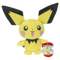 "Cute Pokémon - 8"" Plush - It's Pichu !!"