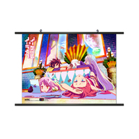 No Game No Life 008 Fabric Wall Scroll Tapestry