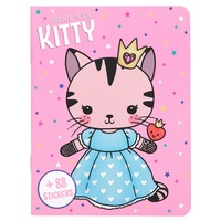 Create You Own - Sticker Book - Pink Kitty