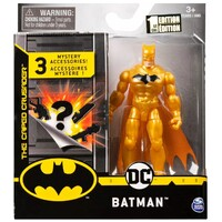 "DC - 4"" Figures - Golden Batman"