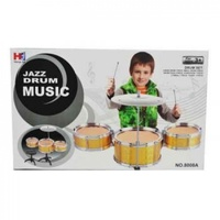 Small Jazz Drum Music Set