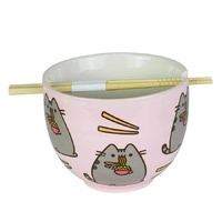 Pusheen Ramen Bowl Chopsticks