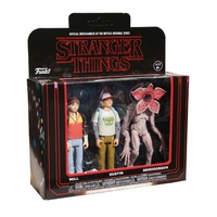 Stranger Things - Will , Dustin , Demogorgon - 3 Pack