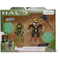 Halo - 3.75″ Core Action Figures -  Heroes vs Villains - 2 Pack - Master Chief + Brute Chieftain