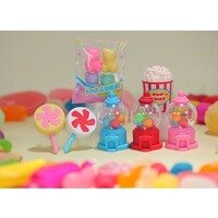 Iwako Erasers (Made in Japan) - Pull Apart Rubbers - Colourful Sweets Series 1 - (Sold Separately)