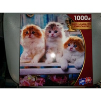 Jigsaw Puzzle - Photo Gallery - 1,000 Piece - 3 Purdy Kittens