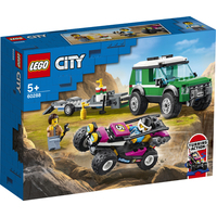 Lego - 2021 - City - Race Buggy Transport - 60288