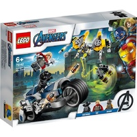 Lego - Marvel - Avengers - The Avengers Speeder Bike Attack - 76142