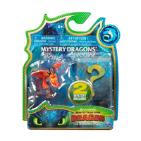 How to Train Your Dragon - The Hidden World - Mystery Dragons Hookfang - Mystery 2-Pack