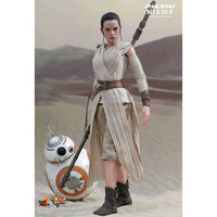 "Star Wars - Rey & BB-8 12"" 1:6 Scale Action Figure Set"