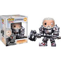 "Overwatch - Reinhardt Unmasked US Exclusive 6"" Pop!"