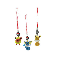 Eeveelutions Danglers 3 pack – Jolteon, Flareon, Vaporeon T19512
