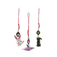 Eeveelutions Danglers 3 pack – Sylveon, Espeon, Umbreon T19512