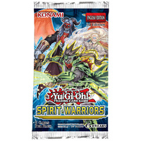 YU-GI-OH! TCG Spirit Warriors Booster (Sold Separately)