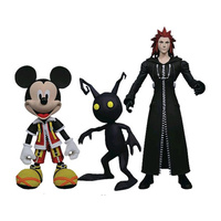 "Kingdom Hearts – Mickey Mouse, Axel and Shadow 7"" Action Figure 3-pack (Series 1)"