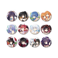 Date a Live Can Badge Collection vol.1 (Sold Separately)