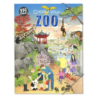 CREATE YOUR SERIES: Create Your Zoo Colouring/Activity Book
