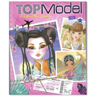 Top Model -  Around The World - Colouring/Activity Book