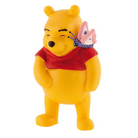 Bullyland: Disney Figure - Winnie the Pooh - Pooh with Butterfly