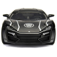 Black Panther - Lykan Hypersport 1/24 Scale Hollywood Rides Diecast Vehicle