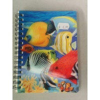 Note Books - 3D - Coral Fish