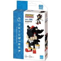 Nanoblock - Sonic The Hedgehog - It's Shadow !! - 160 Pieces