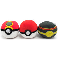 Pokemon - Repeat/Ultra Ball Plush Toy - assortment