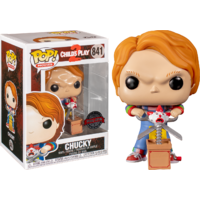 Child's Play 2 - Chucky with Buddy & Scissors US Exclusive Pop! Vinyl [RS]