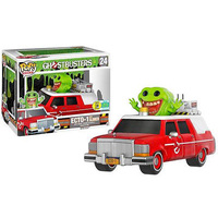 POP - Ghostbusters - Ecto-1 with Slimer - 2016 Comic Con Exclusive