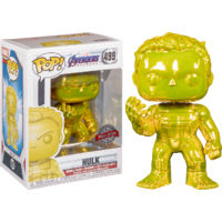 Avengers 4: Endgame - Hulk with Nano Gauntlet - Yellow Chrome - Pop! Vinyl Figure