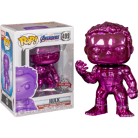 Avengers 4: Endgame - Hulk with Nano Gauntlet - Purple Chrome - Pop! Vinyl Figure