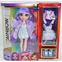 "Rainbow High Dolls - 10"" Figures - Violet Willow"