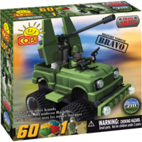"Small Army - Cobi Brand - ""Bravo"" Jeep"