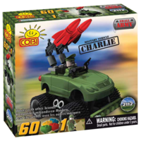 "Small Army - Cobi Brand - ""Charlie"" Rocket Launcher"