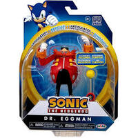 "Sonic The Hedgehog -  - 4"" Dr. Eggman - Action Figure - With Checkpoint"