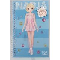 Top Model - 3D Pocket - Dress Me up - Sticker Book - Nadja
