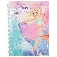 Top Model - Create Your Own - Fantasy Ballerina - Feather Cover