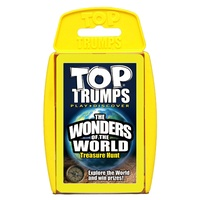 Top Trumps - Explore The Earth - Wonders Of  The World