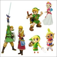 The Legend Of Zelda - Gasha Collection - Whole Set of 6